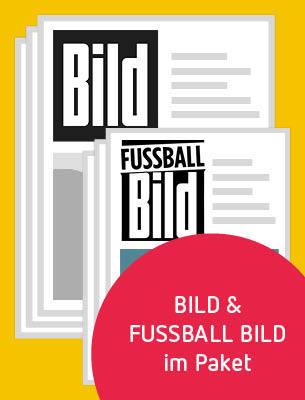 1 Monat BILD und FUSSBALL BILD