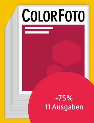11 Ausgaben ColorFoto