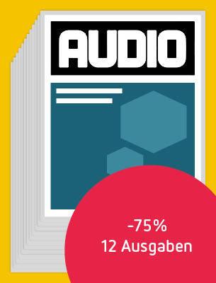 12 Ausgaben AUDIO