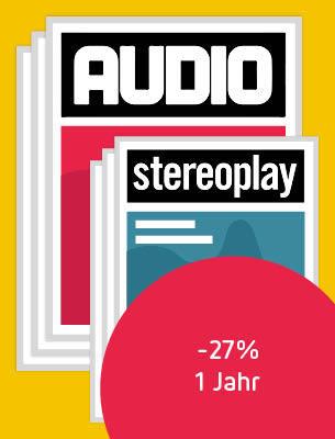 Ein Jahr AUDIO + stereoplay
