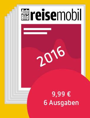 AUTO BILD REISEMOBIL 2016