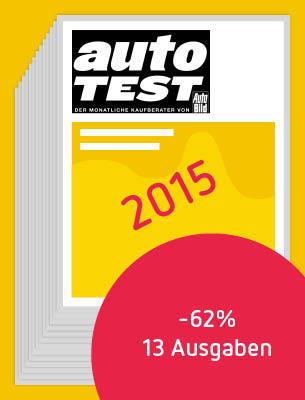 12 Ausgaben AUTO TEST 2015
