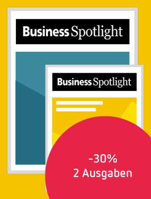 Business Sportlight: 2 Ausgaben zum Vorzugspreis