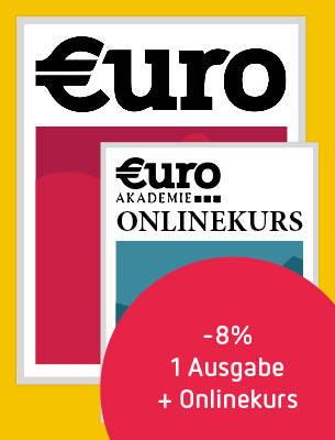 Eine Ausgabe Euro + Börsenlehrgang