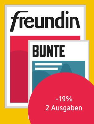 BUNTE + freundin