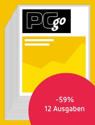 12 Ausgaben PCgo