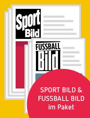 1 Monat SPORT BILD und FUSSBALL BILD
