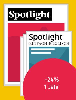 Ein Jahr Spotlight inkl. 3 Archivausgaben
