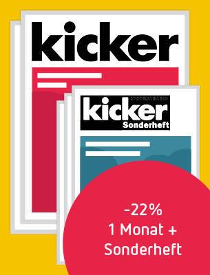 kicker WM-Angebot
