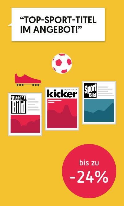 Top-Sporttitel im Angebot!