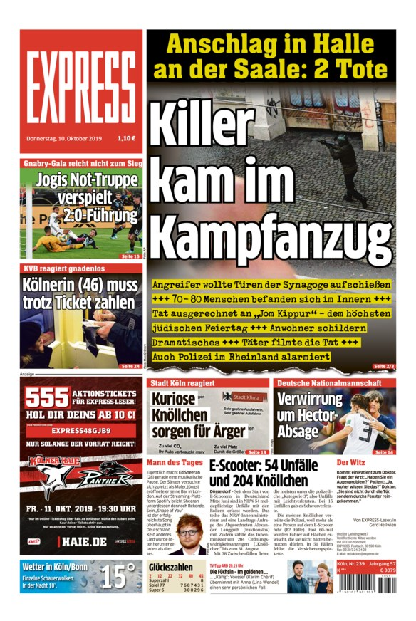 Tageszeitungen Köln
