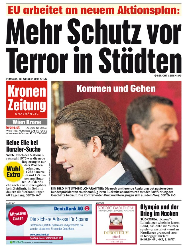 Kronen Zeitung Tirol