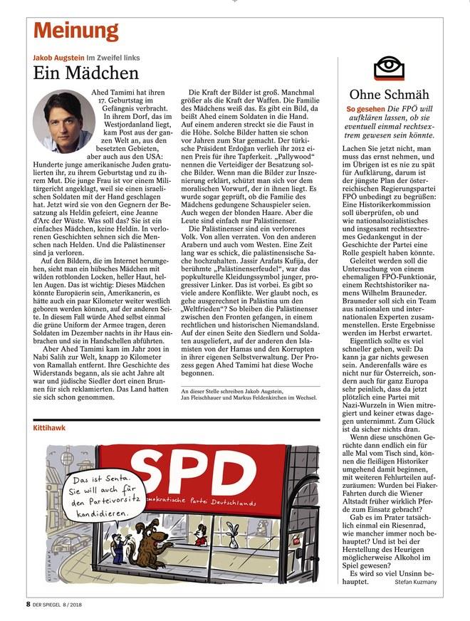 Der spiegel vom als epaper im ikiosk lesen for Spiegel 09 2018