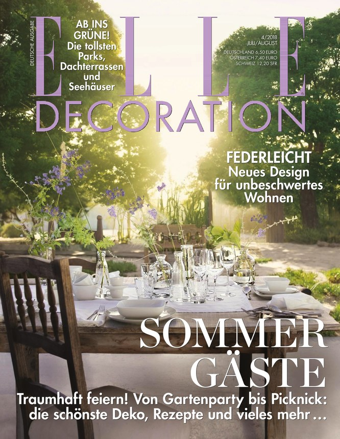 ELLE Decoration - Zeitschrift als ePaper im iKiosk lesen