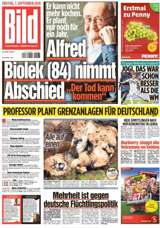 Bild Zeitung Lesen