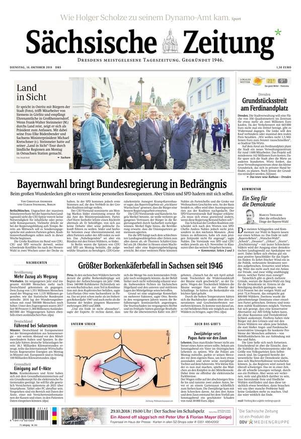 Er sucht Sie: Mann sucht Frau in Dresden
