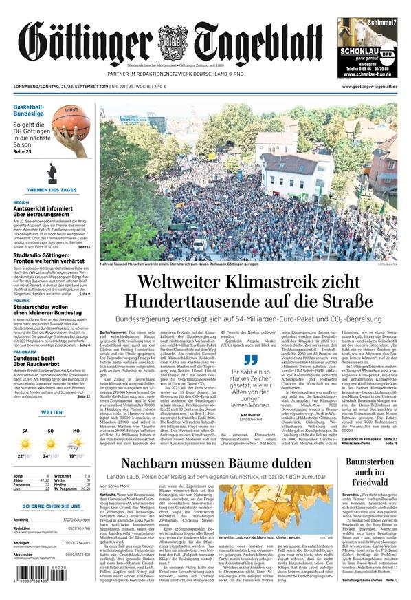 Göttinger Tageblatt Online