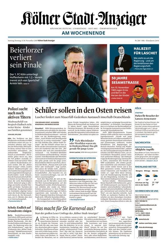 Kölner Stadt Anzeiger Jobs