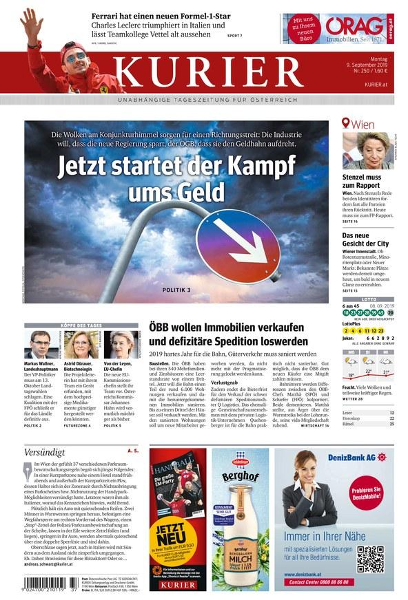 Zeitung Kurier