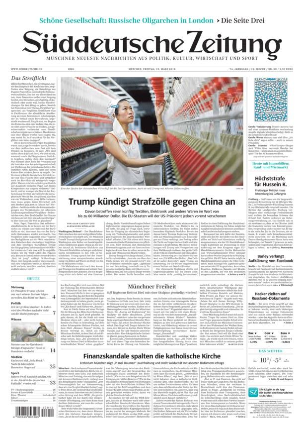 Nachrichten Süddeutsche Zeitung