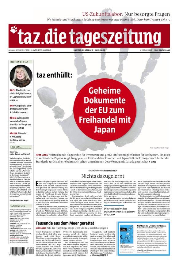 Tageszeitung Online