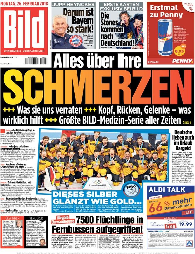 Bildzeitung Heute Titelseite