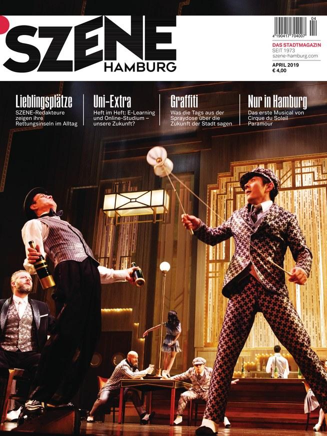 Szene Hamburg Zeitschrift Als Epaper Im Ikiosk Lesen