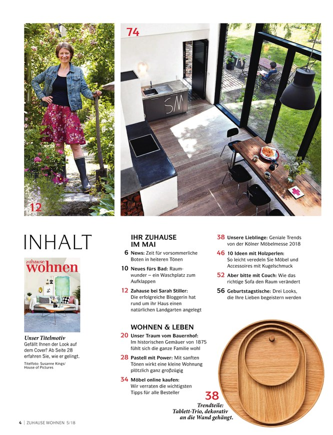 Charmant Küche Bad Design Magazin Ideen - Küchenschrank Ideen ...