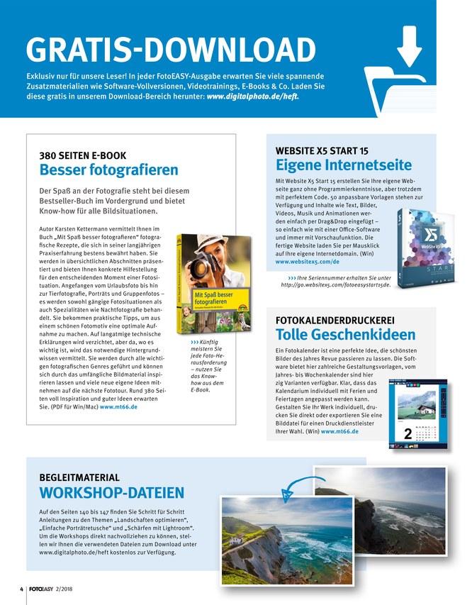 FotoEASY - Zeitschrift als ePaper im iKiosk lesen