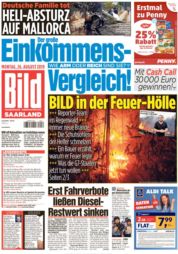 Bild Zeitung Saarland Online Lesen