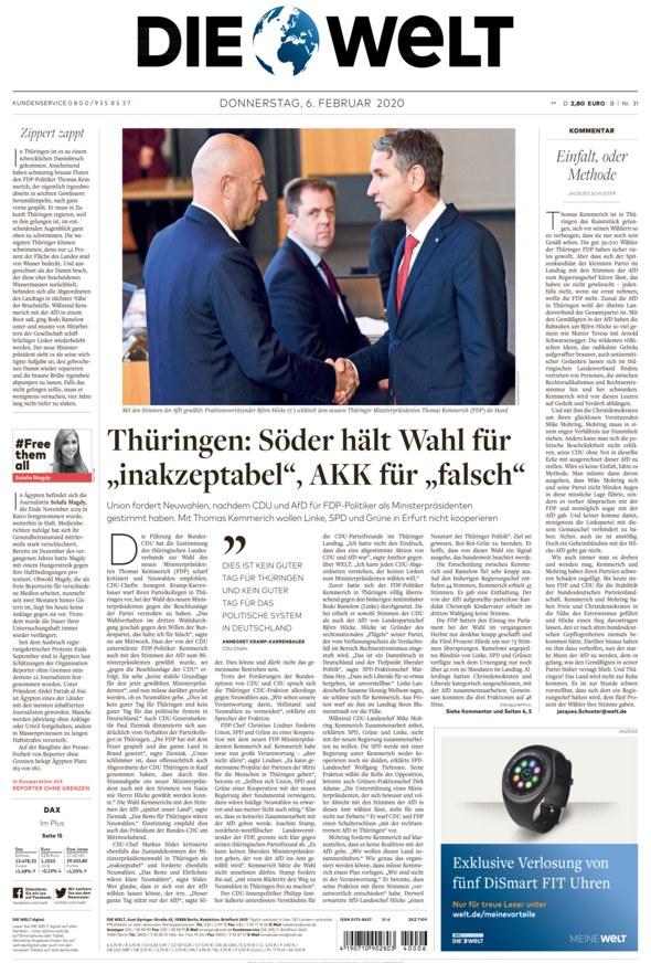 Www Die Welt Zeitung