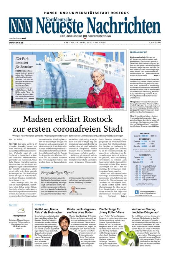 Neueste Norddeutsche Nachrichten