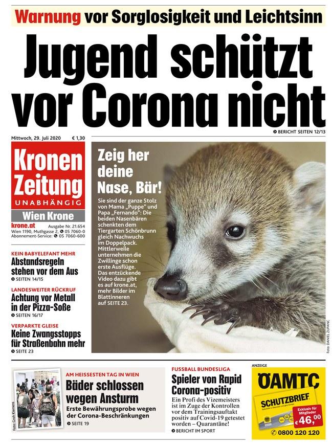 Kronen Zeitung Oberösterreich
