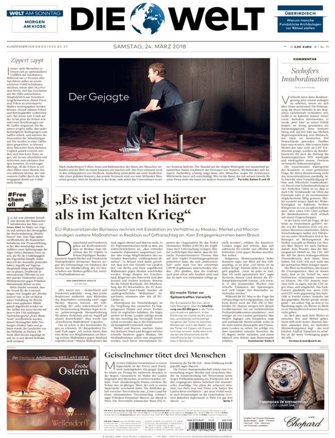 Die Welt Online Zeitung