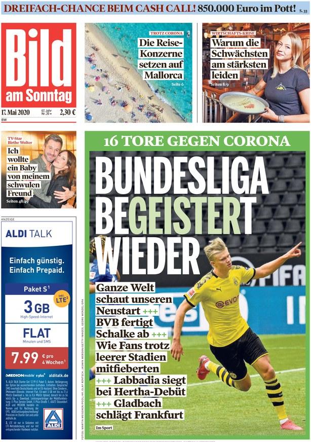 Bild Am Sonntag Bundesliga