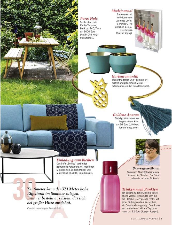zuhause wohnen zeitschrift als epaper im ikiosk lesen. Black Bedroom Furniture Sets. Home Design Ideas