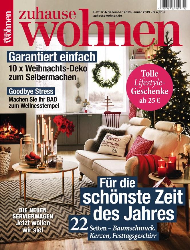 Zuhause Wohnen Zeitschrift Als Epaper Im Ikiosk Lesen