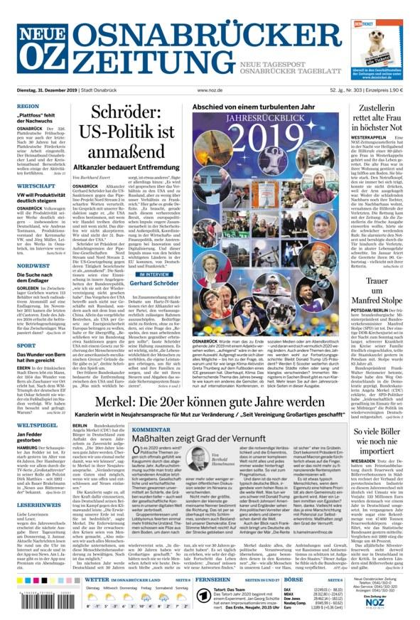 Neue Osnabrücker Zeitung Er Sucht Sie