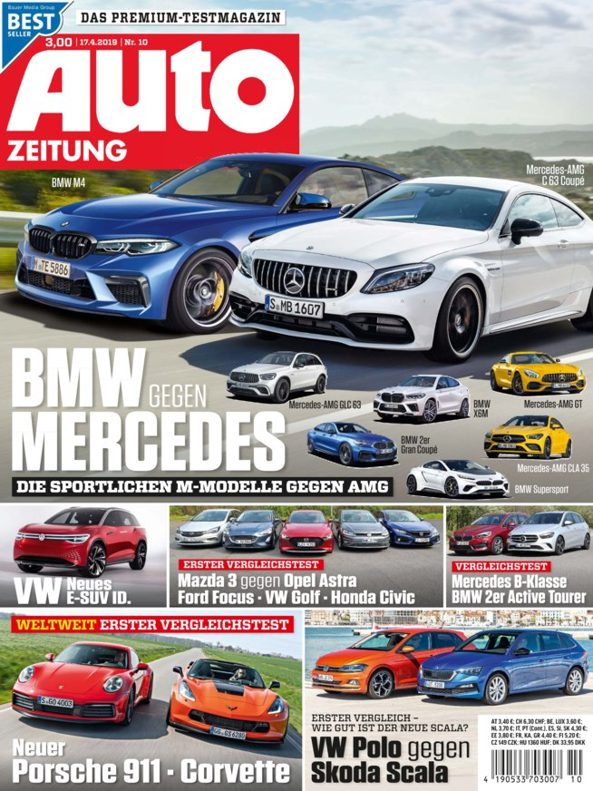 Auto Zeitung Zeitschrift Als Epaper Im Ikiosk Lesen