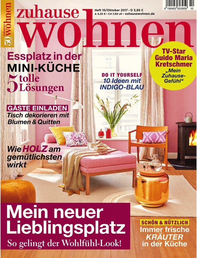 zuhause wohnen vom als epaper im ikiosk lesen. Black Bedroom Furniture Sets. Home Design Ideas