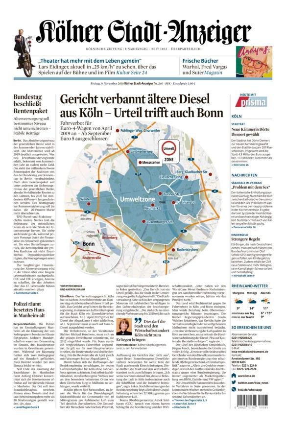 Kölner stadt anzeiger bekanntschaften
