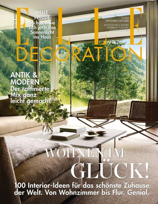 ELLE Decoration   Zeitschrift Als EPaper Im IKiosk Lesen