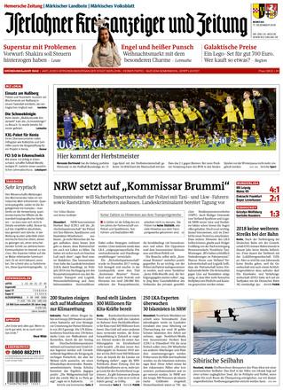 Iserlohner Kreisanzeiger und Zeitung - ePaper;