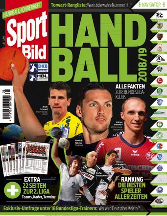 SPORT BILD Sonderheft Handball Bundesliga