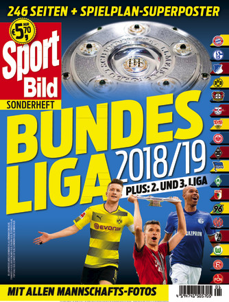 sport bild sonderheft fussball bundesliga zeitschrift. Black Bedroom Furniture Sets. Home Design Ideas