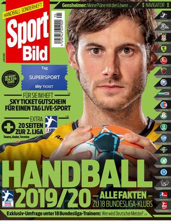 SPORT BILD Sonderheft Handball Bundesliga - ePaper;