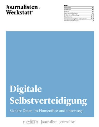 Journalisten-Werkstatt - ePaper;