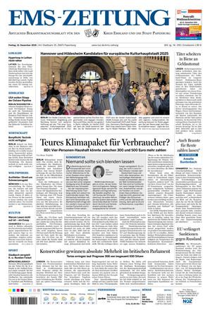 Ems-Zeitung - ePaper;