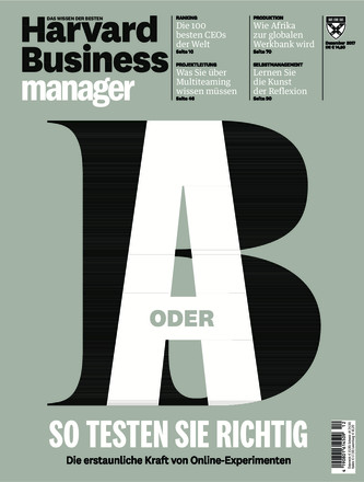 Harvard Business Manager - ePaper;