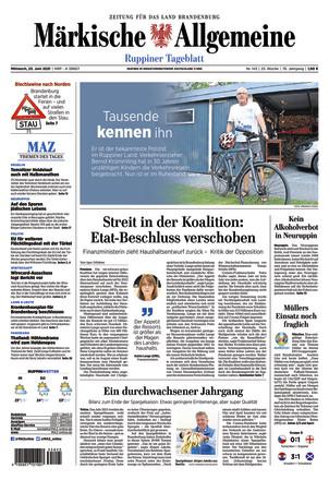 MAZ Ruppiner Tageblatt - ePaper;